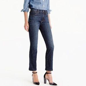 "J crew Vintage Crop jeans Size 29 High Rise 10.5"""